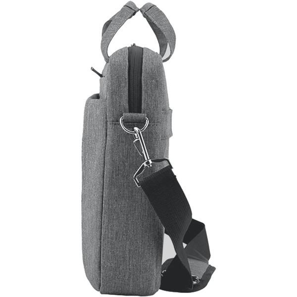 Sacoche grise pour Ordinateur Portable 15,6 pouces